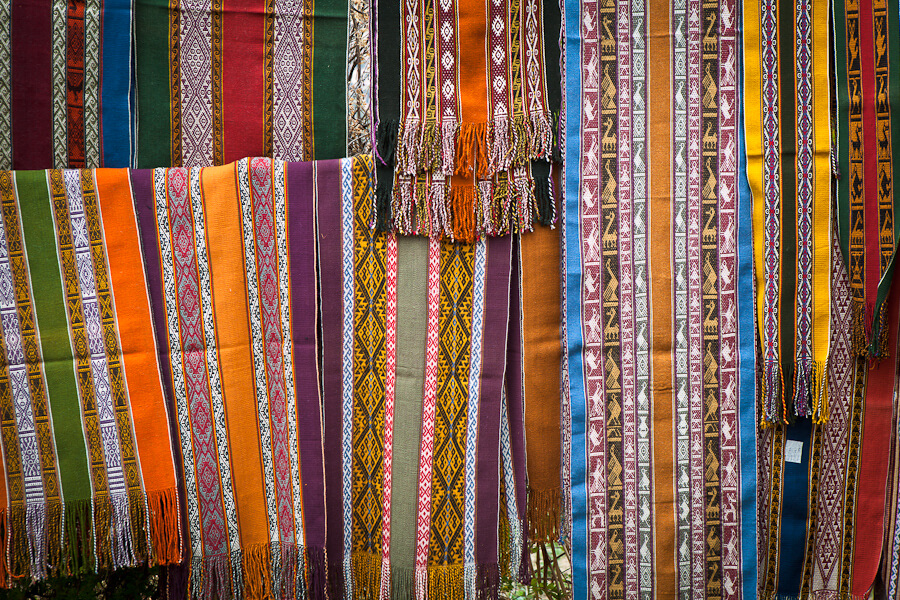The folklore and traditional culture of Peru reflected in