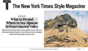 Featured Article: New York Times Style Magazine